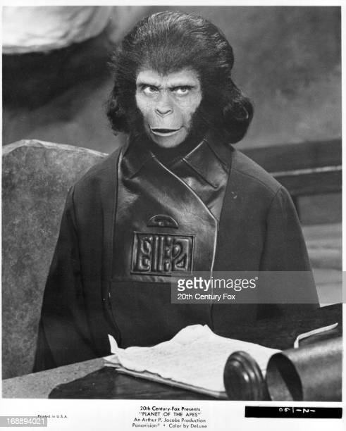 Kim Hunter in a scene from the film 'Planet Of The Apes' 1968