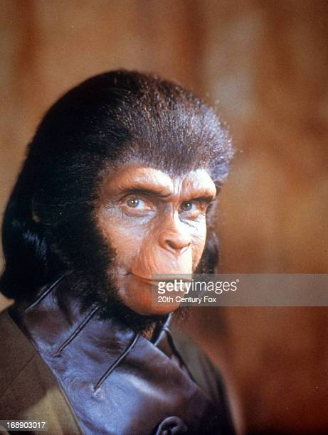 Kim Hunter in publicity portrait for the television film 'Behind The Planet Of The Apes' 1998