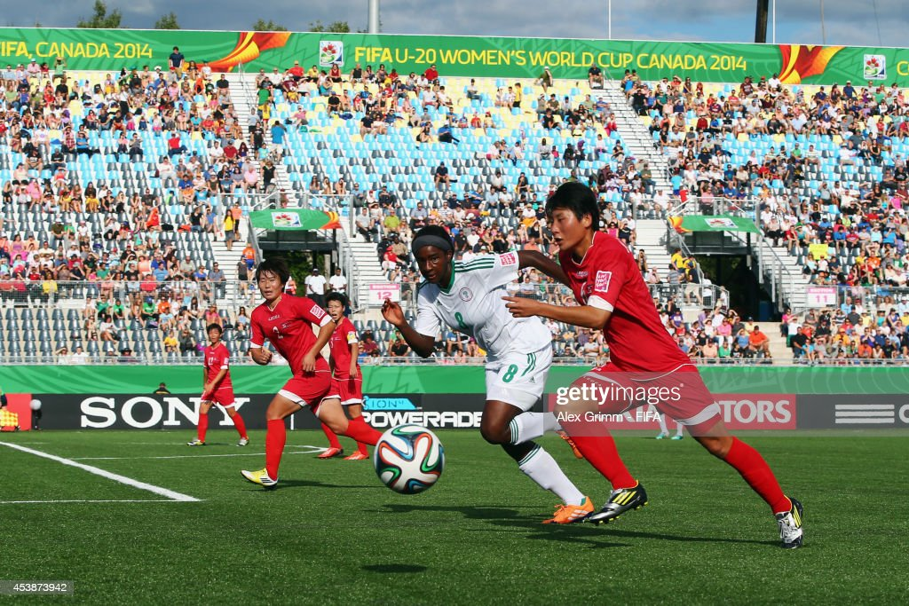 Korea DPR v Nigeria: Semi Final - FIFA U-20 Women's World Cup Canada 2014