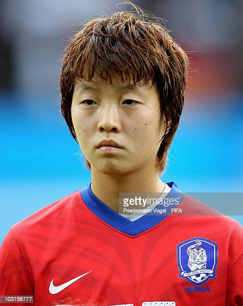 Kim Hye Ri of South Korea poses during the FIFA U20 Women's World Cup Semi Final match between Germany and South Korea at the FIFA U20 Women's World...