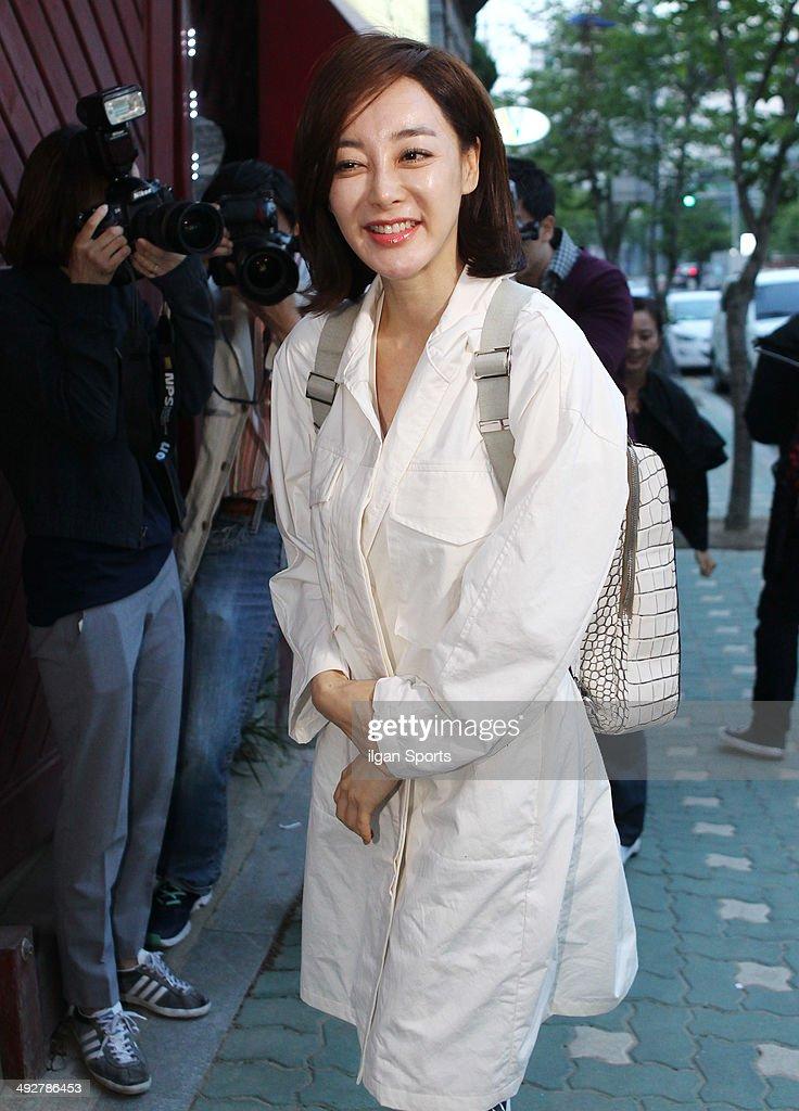 Kim Hye-Eun attends the drama 'Secret Love Affair' closing
