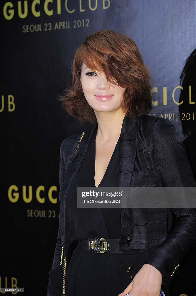 Kim Hye-Soo attends the 'Gucci Club' Party for celebrating the renewal of Gucci Seoul Flagship Store on April 23, 2012 in Seoul, South Korea.