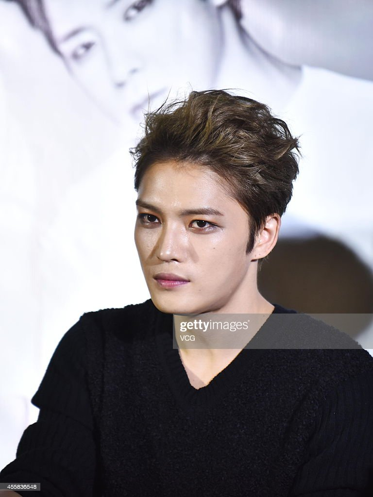 JYJ Attends Press Conference Of New Live In Shanghai