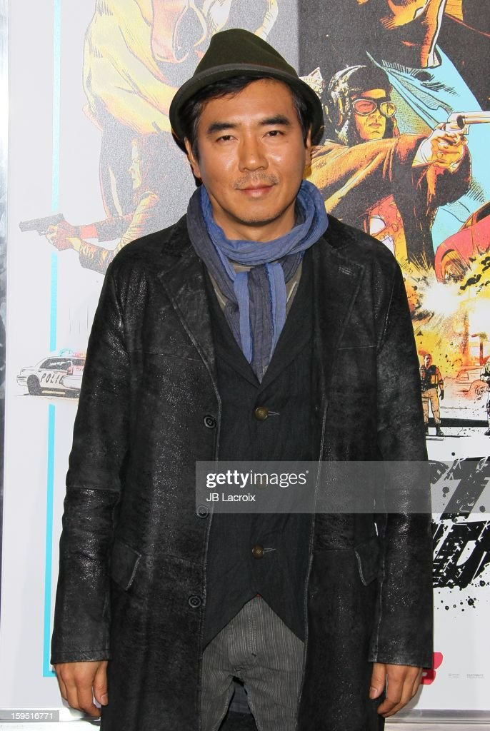 Kim Jee-Woon attends 'The Last Stand' - Los Angeles Premiere at Grauman's Chinese Theatre on January 14, 2013 in Hollywood, California.