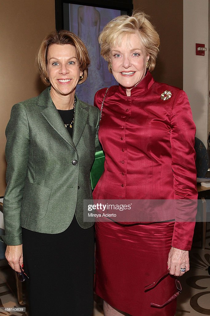 Kim Jenson and Sharon Sager attend the Ethical Shopping Event hosted by Reem Acra at Reem Acra on December 19, 2013 in New York City.