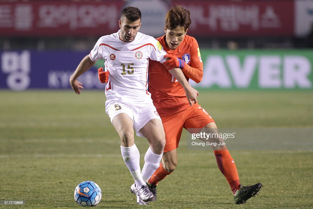 South Korea v Lebanon - 2018 FIFA World Cup Qualifier Round 2 Group G : ニュース写真