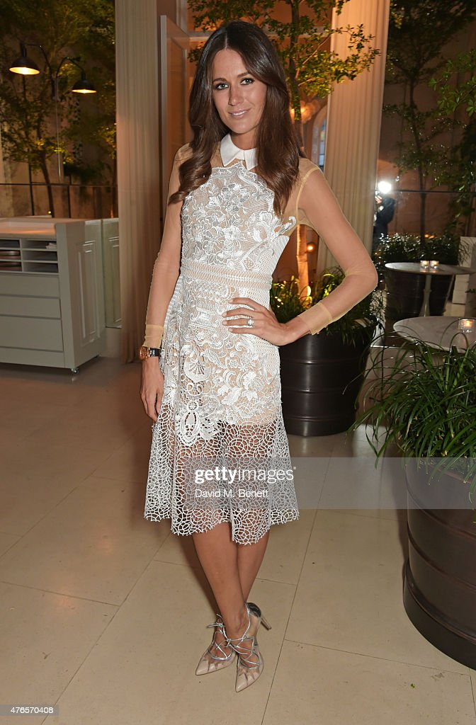 Kim Johnson attends a private dinner in celebration of the Carolyn Murphy and cheekfrills collaboration at Spring at Somerset House on June 10, 2015 in London, England.