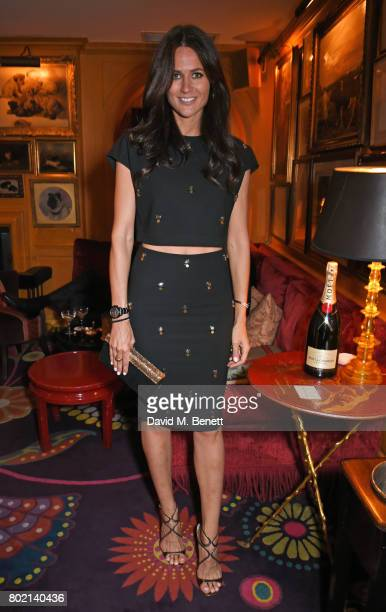Kim Johnson attends the Rita Ora dinner and performance at Annabel's on June 27 2017 in London England