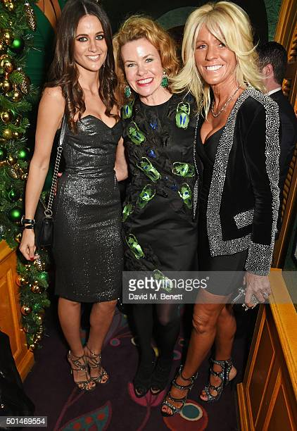Kim Johnson Erin Morris and Sharon Pask attend the David Morris and Agent Provocateur drinks reception hosted by Jeremy Morris and Lisa Tchenguiz at...