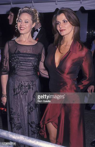 Kim Johnston Ulrich and Eva Temargo Lemus attend 27th Annual Daytime Emmy Awards on May 19 2000 at Radio City Music Hall in New York City