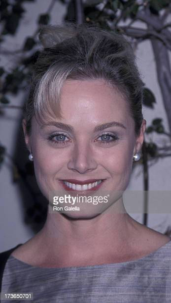 Kim Johnston Ulrich attends NBC TV AllStar Affiliates Party on July 30 1999 at the Twin Palms Restaurant in Pasadena California