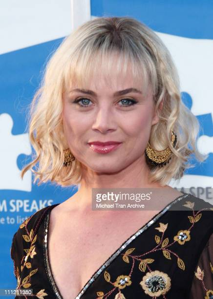 Kim Johnston Ulrich during Jerry Seinfeld and Paul Simon To Perform One Night Only A Concert for Autism Speaks Arrivals at Kodak Theater in Hollywood...