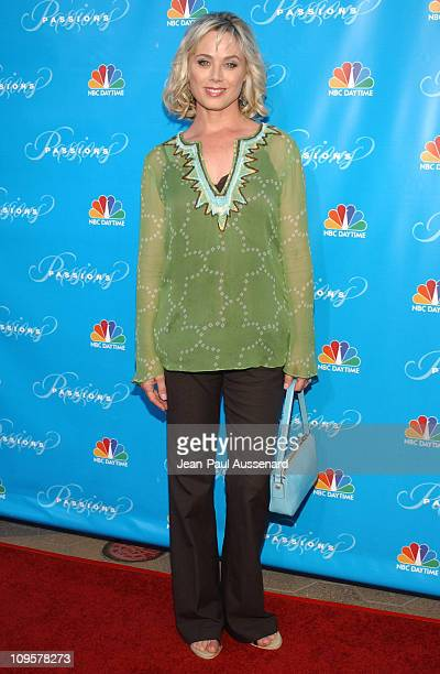 Kim Johnston Ulrich during NBC's Passions 7th Season KickOff Party at Universal Citywalk in Universal City California United States