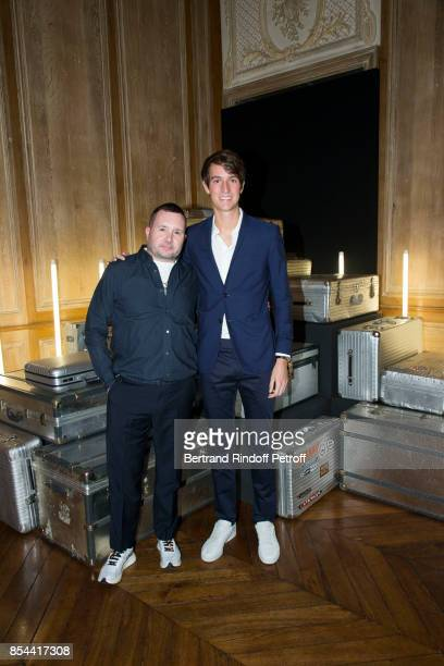 Kim Jones and Alexandre Arnault attend dinner hosted by Rimowa Alexandre Arnault to celebrate the 80th Anniversary of Rimowa's iconic aluminium...