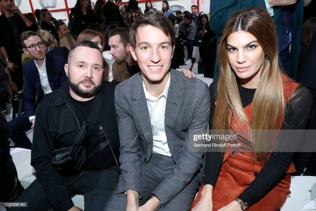 Christian Dior : Front Row - Paris Fashion Week Womenswear Fall/Winter 2019/2020 : News Photo