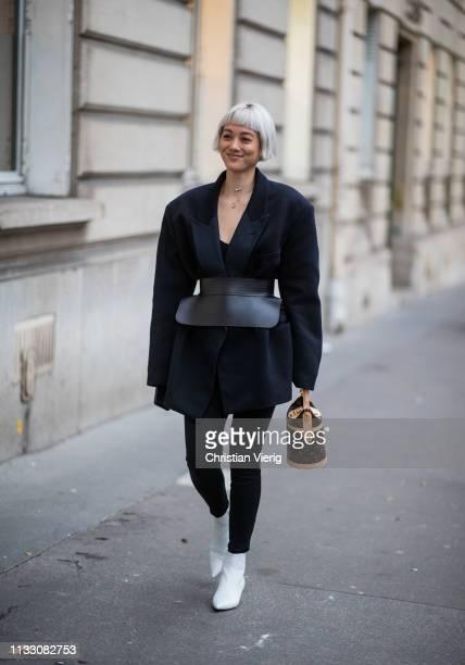 Kim Jones is seen during Paris Fashion Week Womenswear Fall/Winter 2019/2020 on March 01, 2019 in Paris, France.