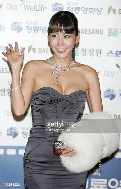 Kim Jung-Eun during 26th Annual Blue Dragon Film Awards - Arrivals at Youido, KBS Hall in Seoul, South, South Korea.