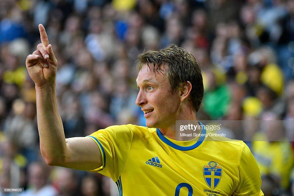 Sweden v Wales - International Friendly