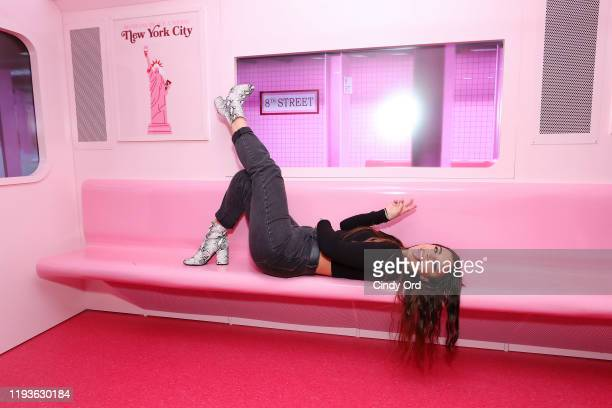 Kim Kaputo attends Museum of Ice Cream SoHo Flagship Opening Party on December 12 2019 in New York City
