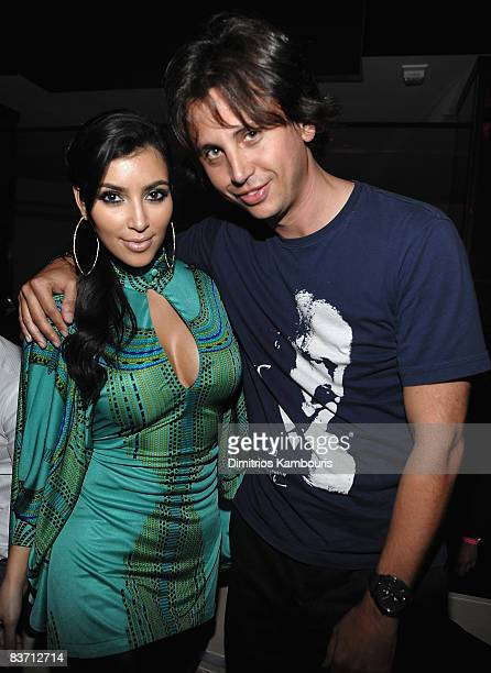 Kim Kardashian and Jonathan Cheban arrive at Victorias Secret Show after party >> at LIV at Fontainebleau on November 14 2008 in Miami Beach Florida