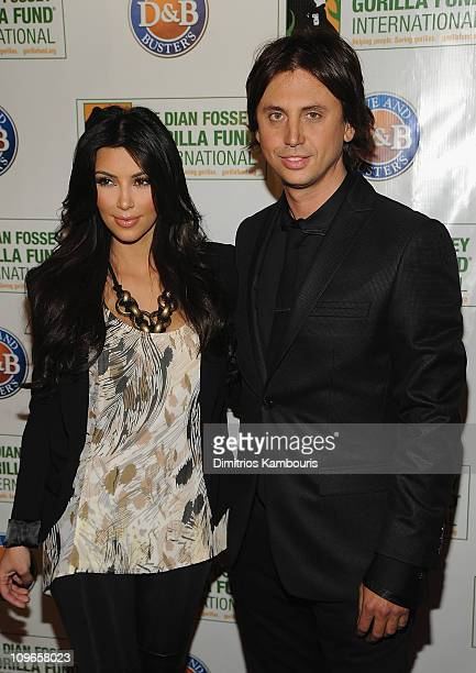 Kim Kardashian and Jonathan Cheban attend the Celebrity Skee Ball Tournament benefiting the Dian Fossey Gorilla Fund International at Dave Buster's...