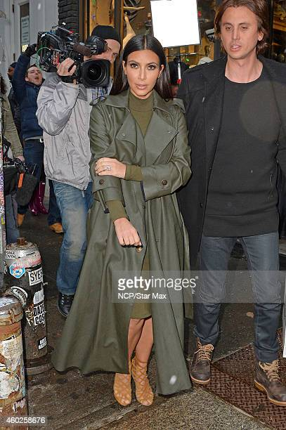 Kim Kardashian and Jonathan Cheban seen on December 10 2014 in New York City