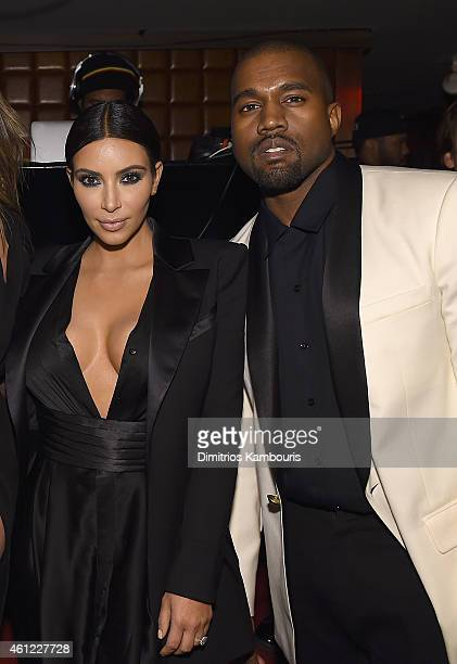 Kim Kardashian and Kaney West attend John Legend Celebrates His Birthday And The 10th Anniversary Of His Debut Album 'Get Lifted' At CATCH NYCat...