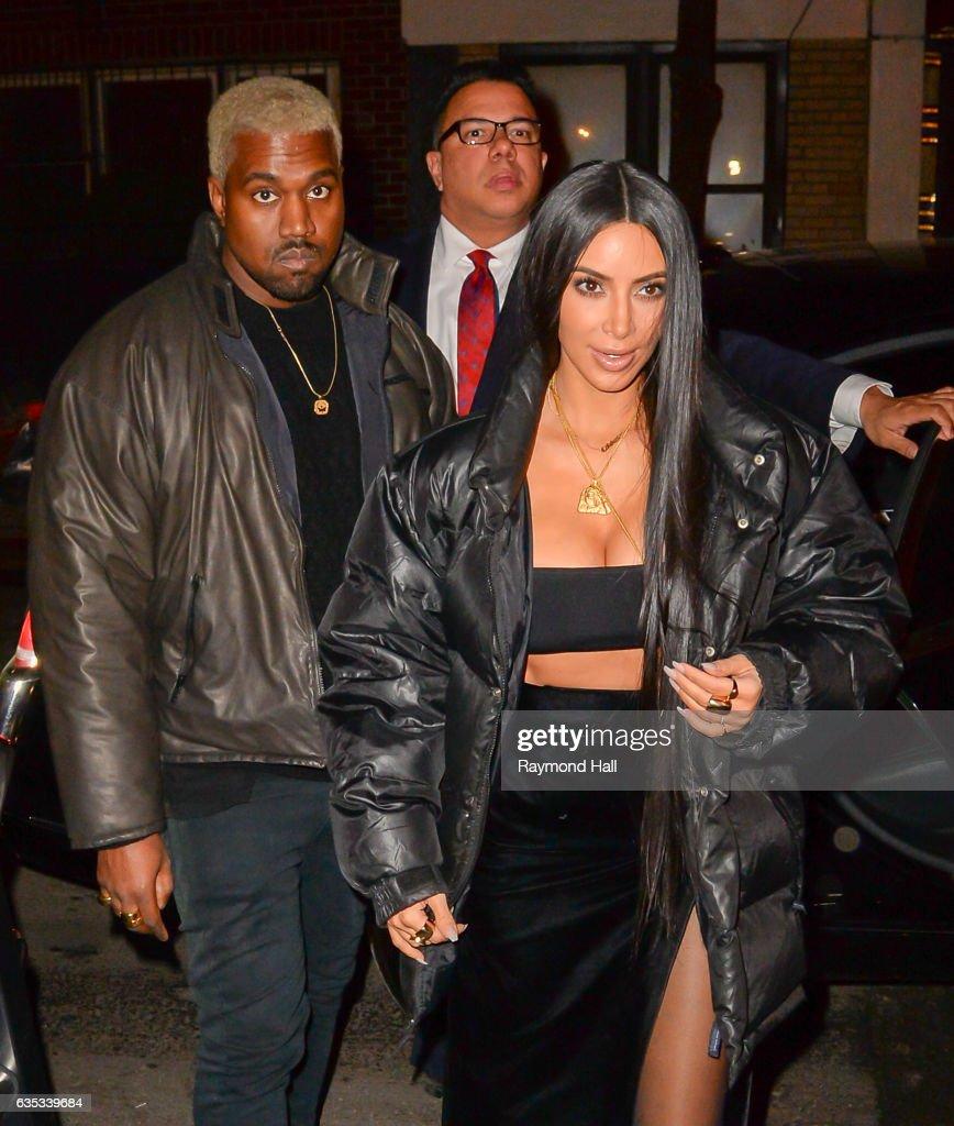 Celebrity Sightings in New York City - February 14, 2017 : News Photo