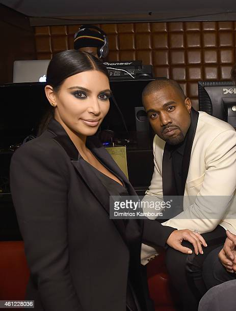 Kim Kardashian and Kanye West attend John Legend Celebrates His Birthday And The 10th Anniversary Of His Debut Album 'Get Lifted' At CATCH NYCat...