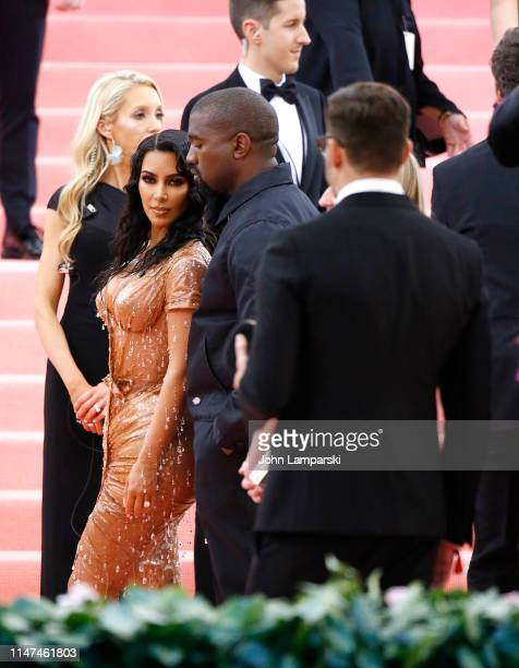 Kim Kardashian and Kanye West attend The 2019 Met Gala Celebrating Camp Notes on Fashion at Metropolitan Museum of Art on May 06 2019 in New York City