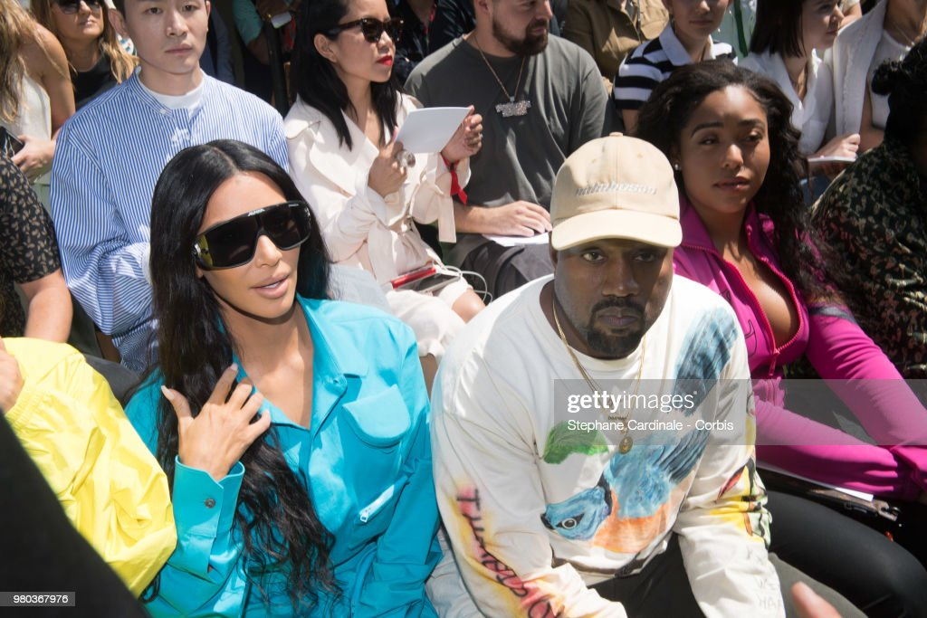 49b6f5382b271 Louis Vuitton   Front Row - Paris Fashion Week - Menswear Spring Summer 2019