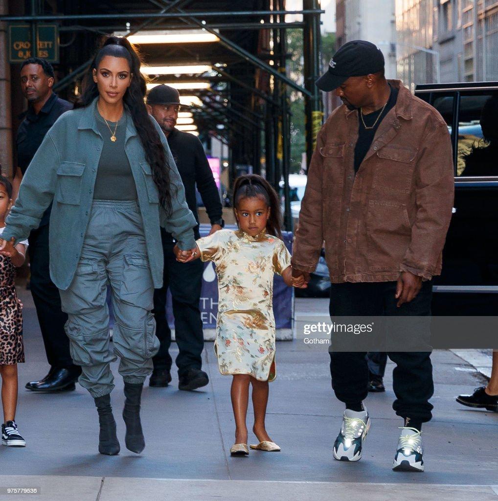 Celebrity Sightings in New York City - June 15, 2018 : News Photo