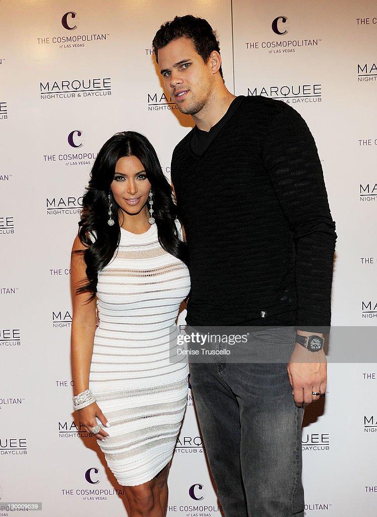 Kim Kardashian Celebrates Her Birthday At Marquee Nightclub : News Photo