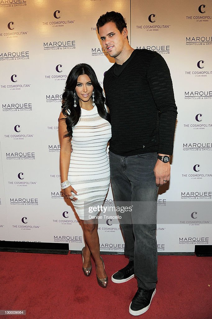 Kim Kardashian Celebrates Her Birthday At Marquee Nightclub : News Photo