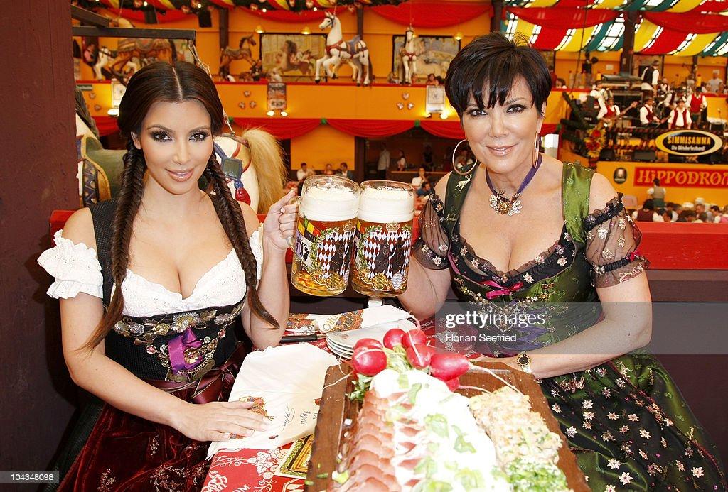 Kim Kardashian Visits Munich