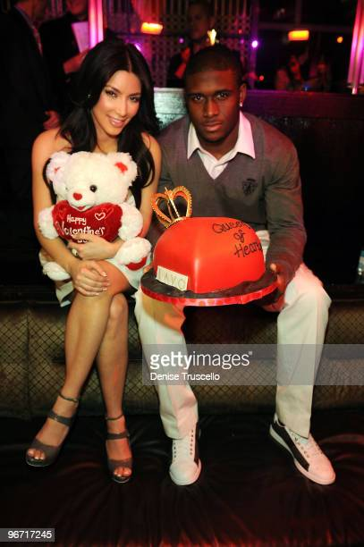 Kim Kardashian and Reggie attend The Queen of Hearts Ball at Lavo on February 13, 2010 in Las Vegas, Nevada.