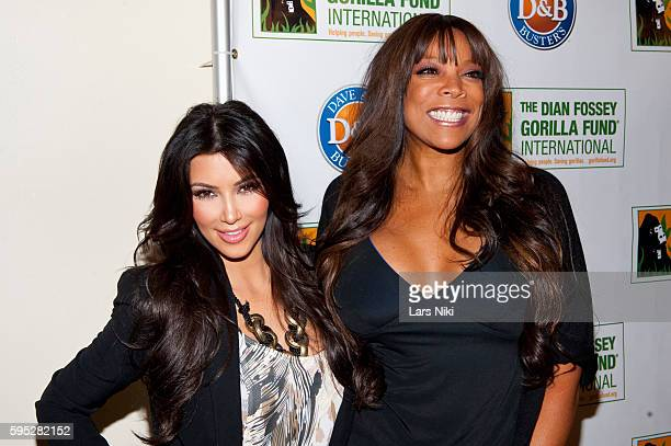 Kim Kardashian and Wendy Williams attend the '2010 Celebrity Skee Ball Tournament' to benefit the Dian Fossey Gorilla Fund International at Dave and...