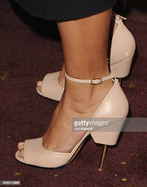 Kim Kardashian arrives at Charlotte Tilbury's Makeup Your Destiny Beauty Festival At Nordstrom at Nordstrom at the Grove on October 9, 2014 in Los...
