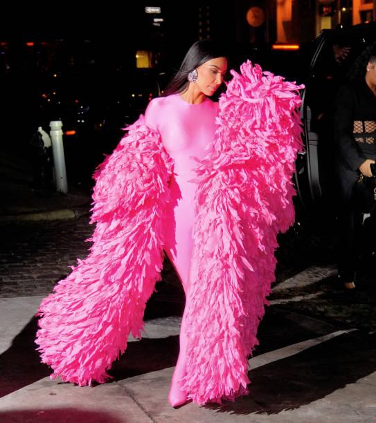 NY: Celebrity Sightings In New York City - October 10, 2021