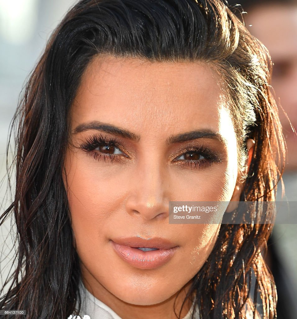 Kim Kardashian arrives at the Daily Front Row's 3rd Annual Fashion Los Angeles Awards on April 2, 2017 in West Hollywood, California.