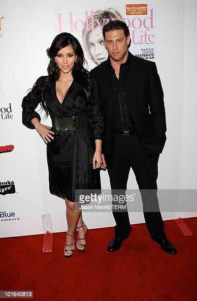 Kim Kardashian arrives to the 7th annual Hollywood Life Breakthrough of the Year Awards at the Music Box at the Fonda on December 9 2007 in Hollywood...