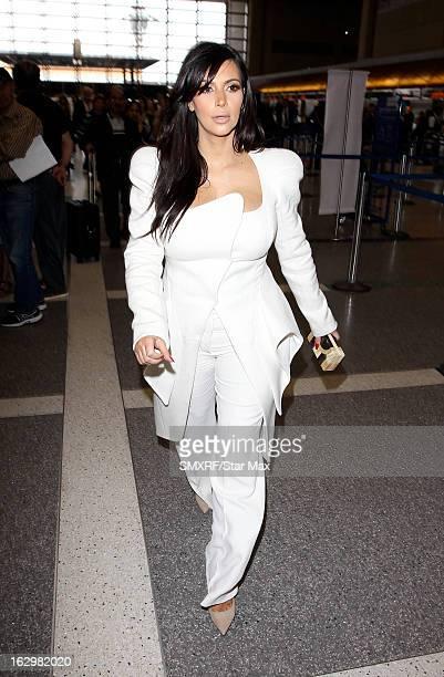 Kim Kardashian as seen on March 2 2013 in Los Angeles California
