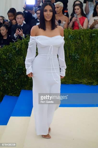 Kim Kardashian at Metropolitan Museum of Art on May 1 2017 in New York City