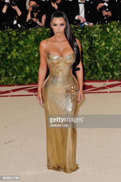 Kim Kardashian at Metropolitan Museum of Art on May 7 2018 in New York City