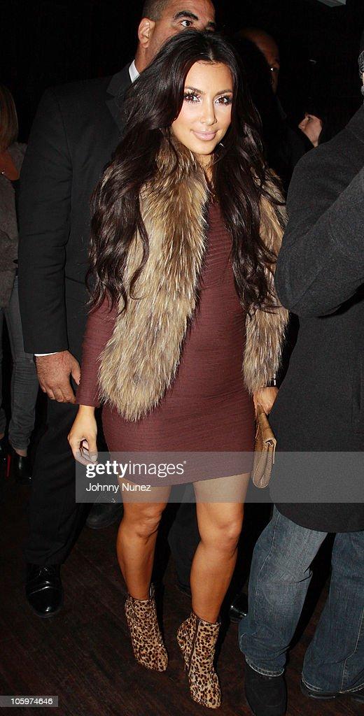Kim Kardashian And Friends At Amnesia NYC  : News Photo