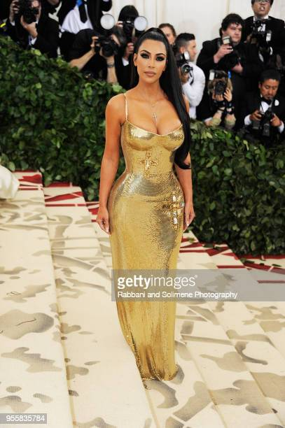 Kim Kardashian attends Heavenly Bodies Fashion The Catholic Imagination Costume Institute Gala at the Metropolitan Museum of Art in New York City