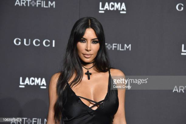 Kim Kardashian attends LACMA Art Film Gala 2018 at Los Angeles County Museum of Art on November 3 2018 in Los Angeles CA