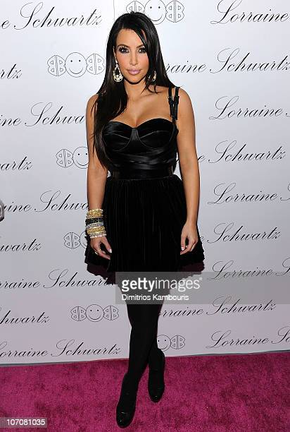 "Kim Kardashian attends Lorraine Schwartz ""2BHAPPY"" Jewelry Collection launch at Lavo on November 22, 2010 in New York, New York."