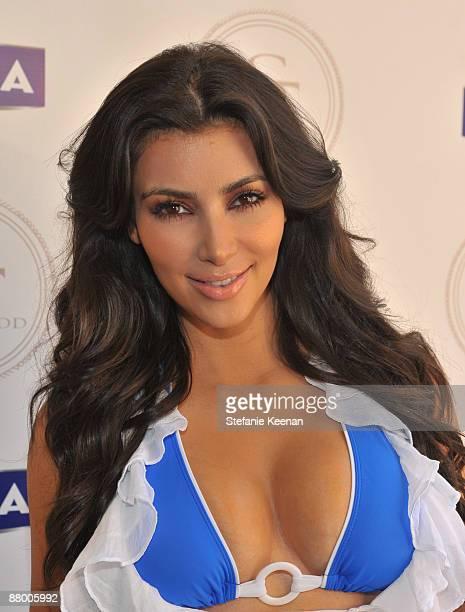 MALIBU CA MAY 24 Kim Kardashian attends Nivea and Shay Todd's Bikini Bash at Nivea Beach House on May 24 2009 in Malibu California