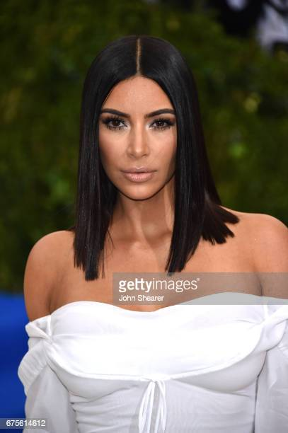 Kim Kardashian attends 'Rei Kawakubo/Comme des Garcons Art Of The InBetween' Costume Institute Gala at Metropolitan Museum of Art on May 1 2017 in...